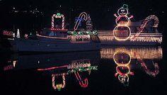 Bremerton Christmas Ships Christmas Ships, A Decade, Advent, Cool Art, Washington, Yard, Entertaining, Seasons, Spaces