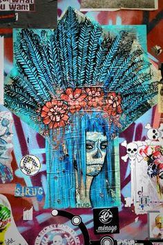 Elno - street art london shoreditch - bricklane nov 2014