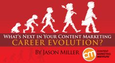The four stages of a content marketer's career