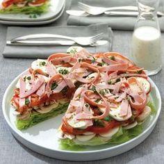 Schichtsalat-Torte   Weight Watchers