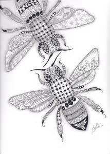 zentangle art bee - Bing Images