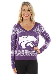 Women's Kansas State University Sweater: XX-Large Tipsy E...  #Christmas #gifts click to get more information or how to purchase.