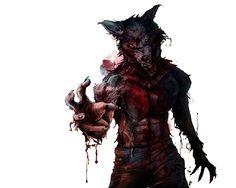 Werwolf 1 by Chris Bienefeld