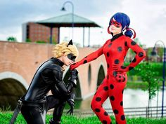 Kicka - Ladybug cosplay photo | Shuza - Chat Noir cosplay photo | Cure WorldCosplay