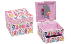 Beautifully designed musical jewellery box with a drawer for all your treasures.