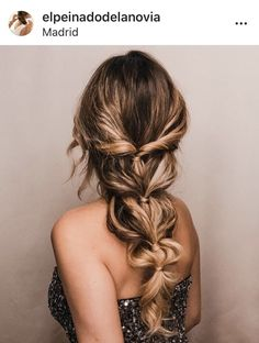 Hairdo For Long Hair, Wedding Hairstyles For Long Hair, Wedding Hair And Makeup, Up Hairstyles, Pretty Hairstyles, Hairstyle Ideas, Braid Hairstyles For Long Hair, Bridal Hair, Wedding Hairdos