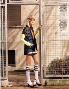 visual optimism; fashion editorials, shows, campaigns  more!: cancha a la moda: luisa hartema by sebastian briech for grazia spain 12th march 2014