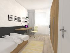 študentská izba Divider, Bed, Room, Furniture, Home Decor, Homemade Home Decor, Stream Bed, Rooms, Home Furnishings