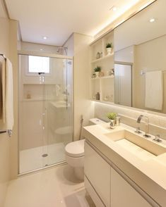 Apartment Bathroom Layout 50 Ideas For 2019 Home, Trendy Bathroom, Bathroom Cabinets Diy, Apartment Bathroom, White Vanity Bathroom, White Bathroom, Bathroom Design Small, Bathroom Design Luxury, Bathroom Design