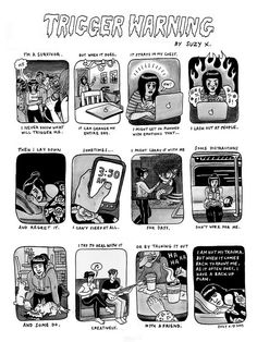 """""""April is Sexual Assault Awareness and Prevention Month—the right time for artist Suzy X to put together this comic about her experiences as a survivor."""""""