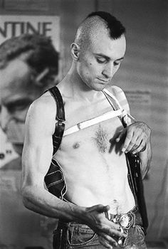 DeNiro as Travis Bickle (aka Henry Krinkle) 'Taxi Driver'