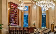 Champagne Bar at the Plaza Hotel, New York, US