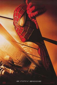 Spiderman - the Original with Tobey Maguire and Kirsten Dunst Spiderman 2002, Amazing Spiderman, Raimi Spiderman, Spiderman Original, Spiderman Pics, Spiderman Poster, Spiderman Spider, Every Spider Man, Spider Man 2