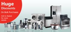 Huge Discounts on Home Appliances by one and only TheOfferStop.com