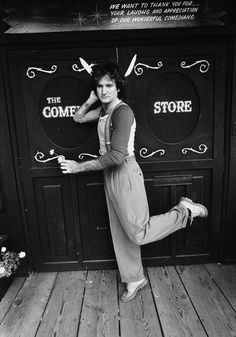 Robin Williams in 1978. - drove past there in L.A!