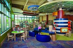 Gulf Gate Public Library children's area