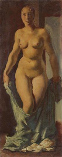 Standing Nude - Alexandre Jacovleff