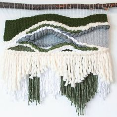 Large nature inspired wall hanging by Driftwood Weaves