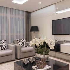 43 Amazing TV Wall Decor Ideas for Living Room Living Room Sofa, Home Living Room, Interior Design Living Room, Living Room Designs, Living Room Decor, Living Room Inspiration, Home Decor Inspiration, Decor Ideas, Sweet Home