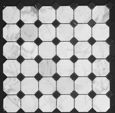Mosaic Floor and walls, Mosaic Bathrooms, Mosaic Showers, Mosaic Kitchen, Marble Mosaic Marble Mosaic, Carrara Marble, Mosaic Bathroom, White Burgundy, Marble Effect, Countertop, Showers, Bathrooms, Tiles