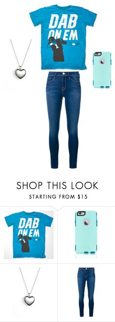 """""""#Dab!!"""" by adc0822 ❤ liked on Polyvore featuring OtterBox, Pandora and Frame Denim"""