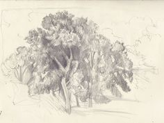Corot tree, No.1