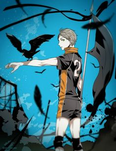 Haikyuu! | Sugawara |