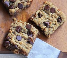 Chocolate Chip Peanut Butter Bars