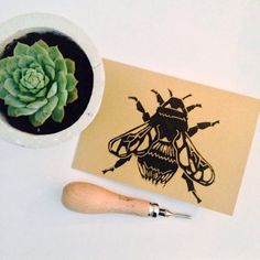 Bees are my favourite! My surname means Honey in Italian, and ever since I was a child I had to have anything with a bee on it. This inspired me to