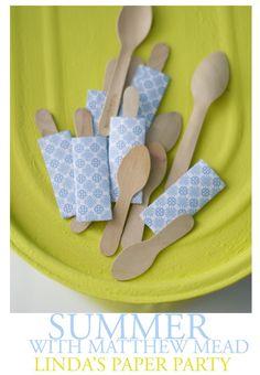 ice cream spoons.