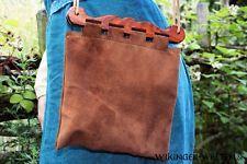 Handarbeit - Haithabu Tasche Leder - Wikinger Gewandung Mittelalter