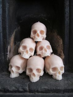 Life-size Skull Candle $49.06