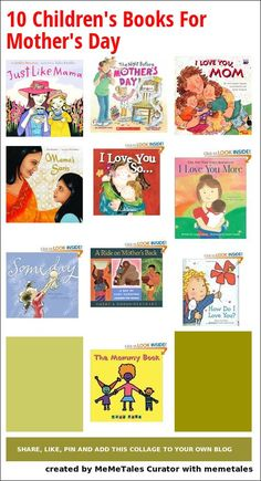 Books about mothers for preschoolers