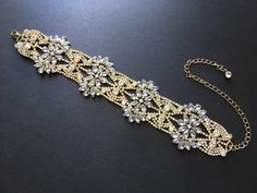 Excited to share this item from my shop: Victorian gold necklace, wedding choker necklace, bridal jewelry, rhinestone necklace, crystals necklace, prom, statement necklace, gift #gold #wedding #victorian #artdeco #crystalsnecklace #weddingnecklace #bridalnecklace Bridal Necklace, Rhinestone Necklace, Crystal Necklace, Crystal Rhinestone, Bridal Jewelry, Gold Necklace, Victorian Gold, On Your Wedding Day, Chokers