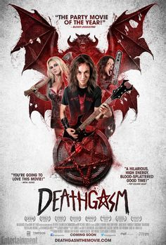 New Official Deathgasm Poster Inside