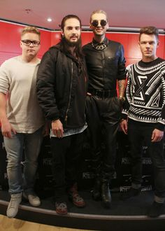 Tokio Hotel Sign Autographs At Fnac Saint-Lazare To Promote Their New Album 'Kings Of Suburbia' - http://oceanup.com/2014/10/09/tokio-hotel-sign-autographs-at-fnac-saint-lazare-to-promote-their-new-album-kings-of-suburbia/
