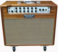 Mesa Boogie LoneStar Special Combo (Wood Cabinet). I gotta find the value for this amazing amp. I hate to lose it, but will likely part with it when I sell the Taylor Solid Body. The sound is amazing and the wood cabinet is something to see