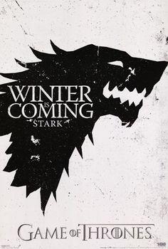 Framed Game of Thrones - Stark Sigil Print