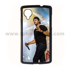 Nexus 5 Durable Hard Case Design With luke bryan