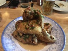 fried chicken wings, caramelized fish sauce, Thai chili July 24, 2017