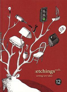 Etchings Melb 12 Visual Eyes various  RRP ($A) 24.95 P/B Publisher: Ilura Press ISBN: 9781921325175