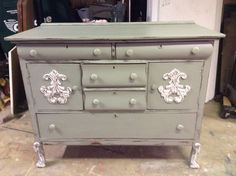 Painted server/buffet
