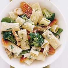Rigatoni Primavera with Chicken