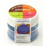 Colorant alimentaire d'origine naturelle Bleu
