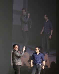 Carlos Latre representando una imitación de (José) Bono en el #SherpaKeynote