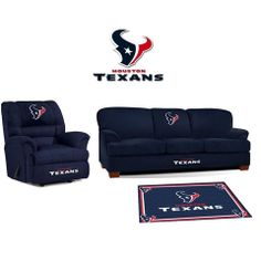 Use this Exclusive coupon code: PINFIVE to receive an additional 5% off the Houston Texans Microfiber Furniture Set at SportsFansPlus.com