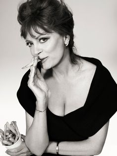 Susan Sarandon by Catherine Servel