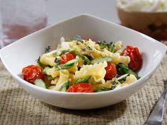 Recipe Barilla® Campanelle with Asparagus, Caramelized Grape Tomatoes & Shredded Parmigiano Reggiano - Barilla