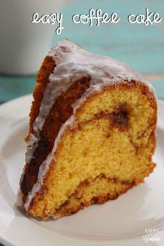 Easy Coffee Cake - Raining Hot Coupons