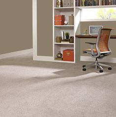 Exceptionnel A Light Neutral Plush Carpet Is A Great Base For Fun Decor In Your Home  Office